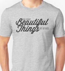 Camiseta ajustada Tú haces cosas hermosas sin polvo