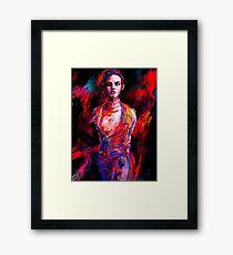 Vivien Framed Print