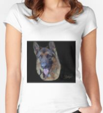 Zephyr - Portrait Women's Fitted Scoop T-Shirt
