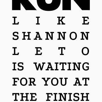 RUN - Shannon Leto by Joji387