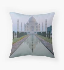 Incredible India - Taj Mahal Throw Pillow
