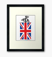 British CCTV Freedom Framed Print