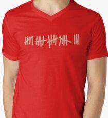 Notches Men's V-Neck T-Shirt