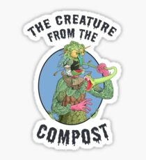 The Creature from the Compost Sticker