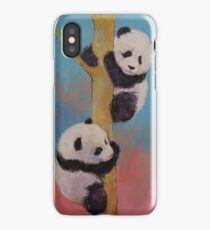 Panda Fun iPhone Case
