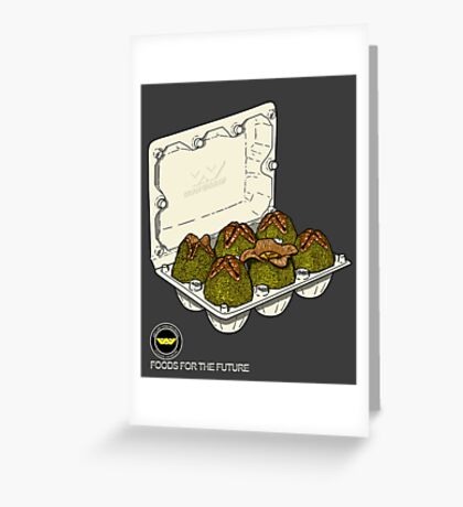 Food for the future. Greeting Card