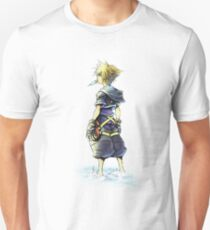 Kingdom Hearts - Sora on beach Unisex T-Shirt