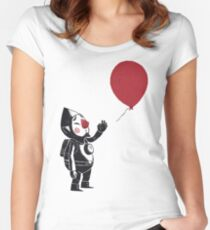 balloon fairy Women's Fitted Scoop T-Shirt