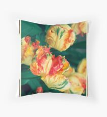 Polacolor Floral 2, Reproduction Throw Pillow