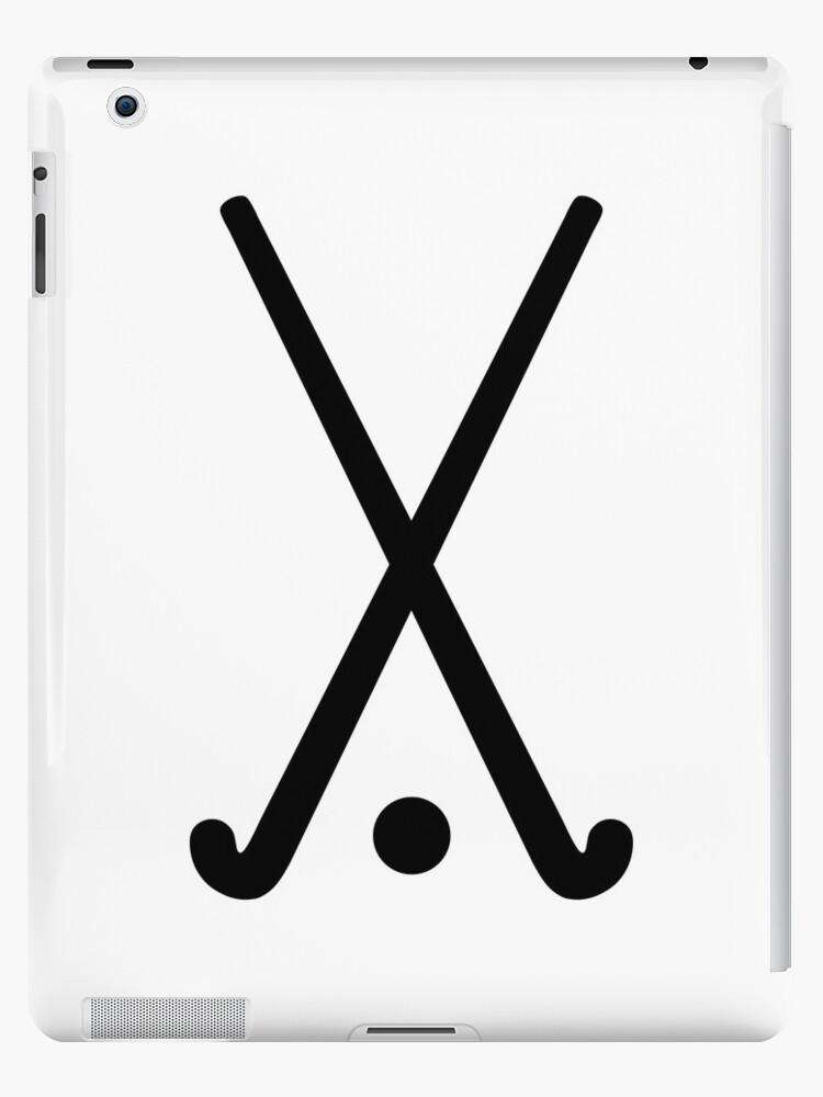 Field hockey clubs ball by Designzz