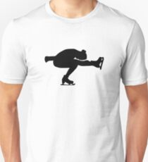 Figure skating girl Unisex T-Shirt