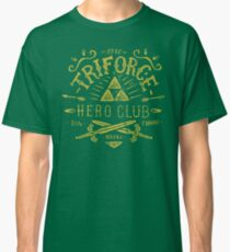 Triforce Hero Club Classic T-Shirt