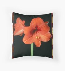 Polacolor Floral 8, Reproduction Throw Pillow