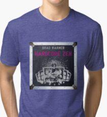 Hardcore Zen German cover Tri-blend T-Shirt
