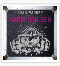 Hardcore Zen German cover Sticker