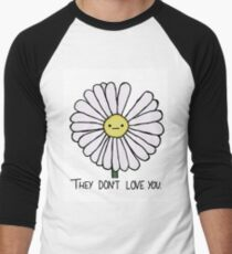 Dry Daisy Men's Baseball ¾ T-Shirt