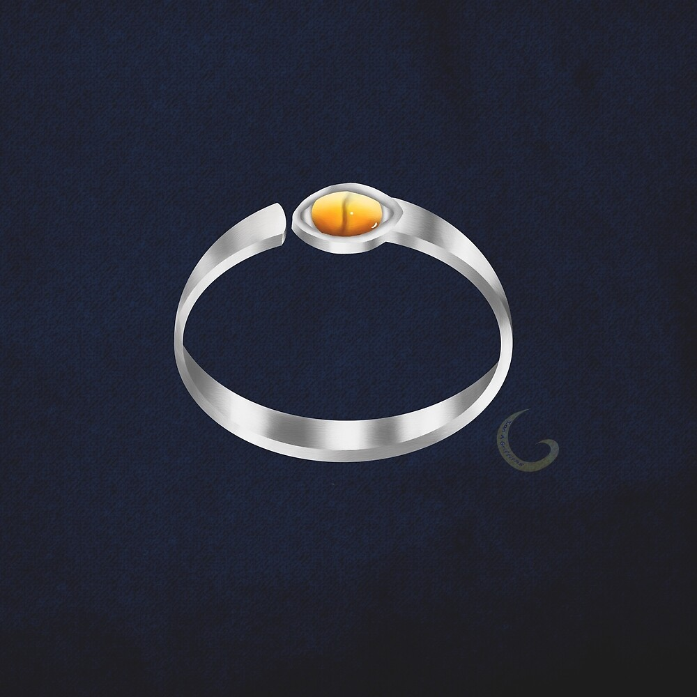 Cats eye ring by thebigG2005
