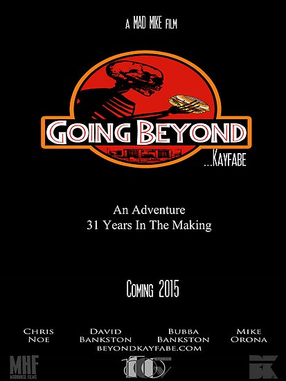 Going Beyond... Kayfabe Poster 3 by falsefinish66