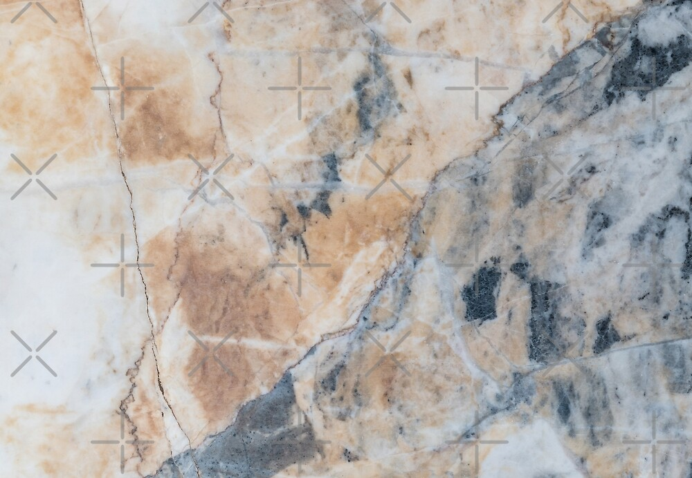 Light Gray And White Marble Stone by artonwear