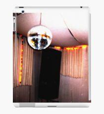 retro disco ball booth iPad Case/Skin
