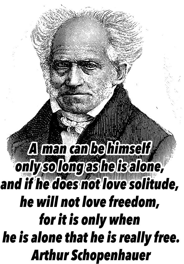 Arthur Schopenhauer  by Shirtquotes