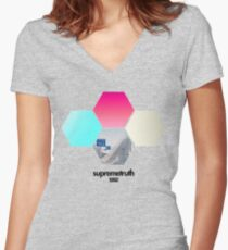 st the92 Women's Fitted V-Neck T-Shirt