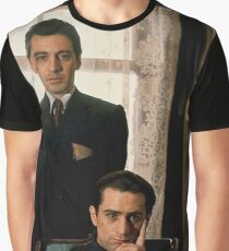 The Godfather - Al Pacino, Robert De Niro Graphic T-Shirt
