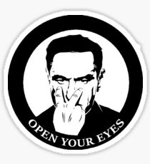 Open Your Eyes Sticker