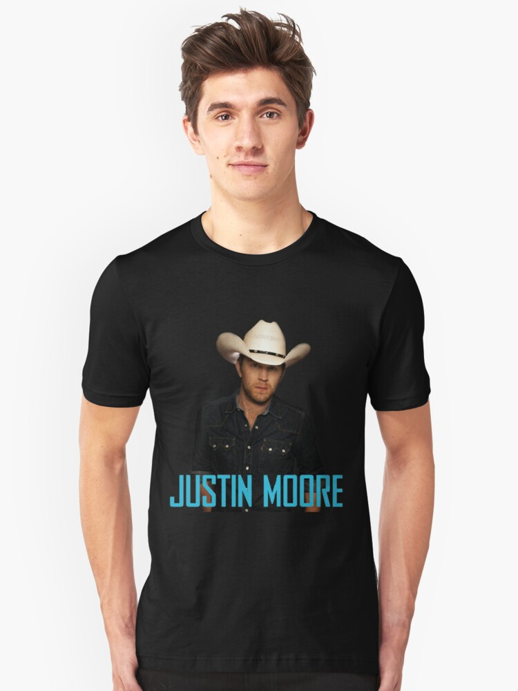 justin moore Unisex T-Shirt Front