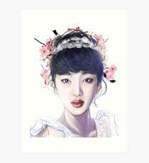 Sulli Blossom Kunstdruck