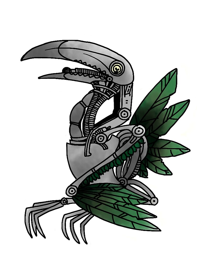 Robotic Toucan by Clever-Corvus