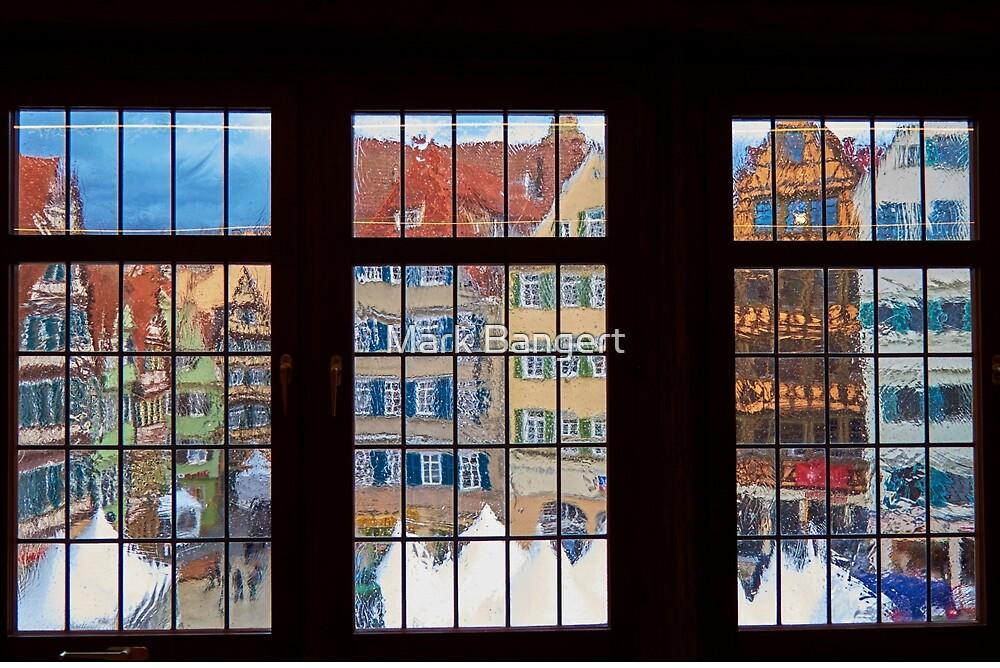 Tübingen marketplace by Mark Bangert