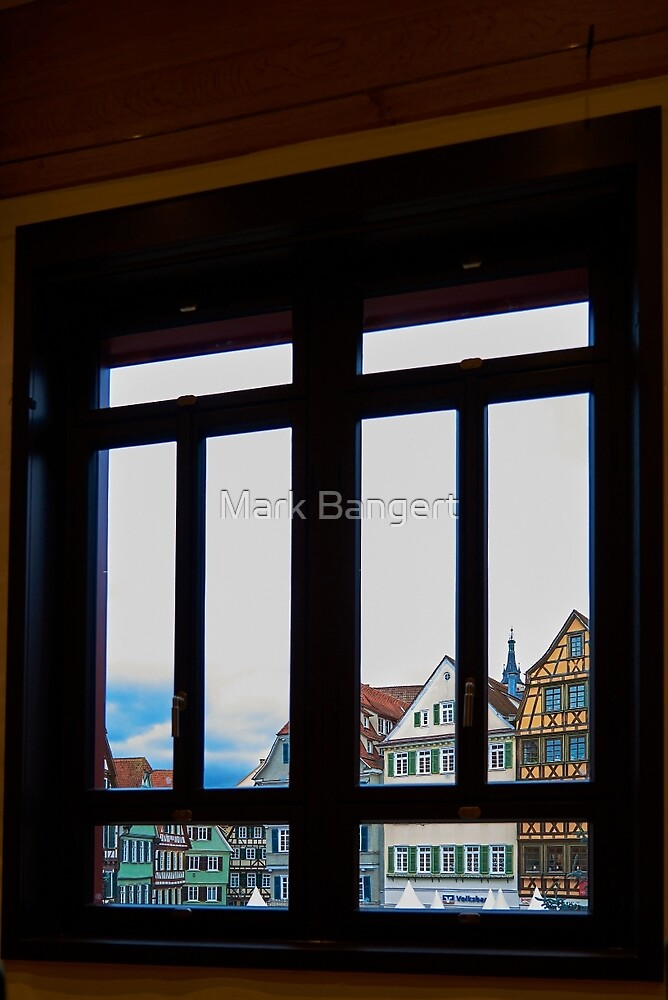 Out of the window by Mark Bangert