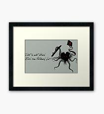 Immortal Lovecraft Framed Print