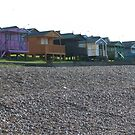 Beach Huts. by victor55