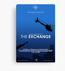 GTA III - The Exchange Canvas Print