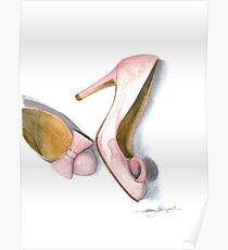 Pink Bows Poster