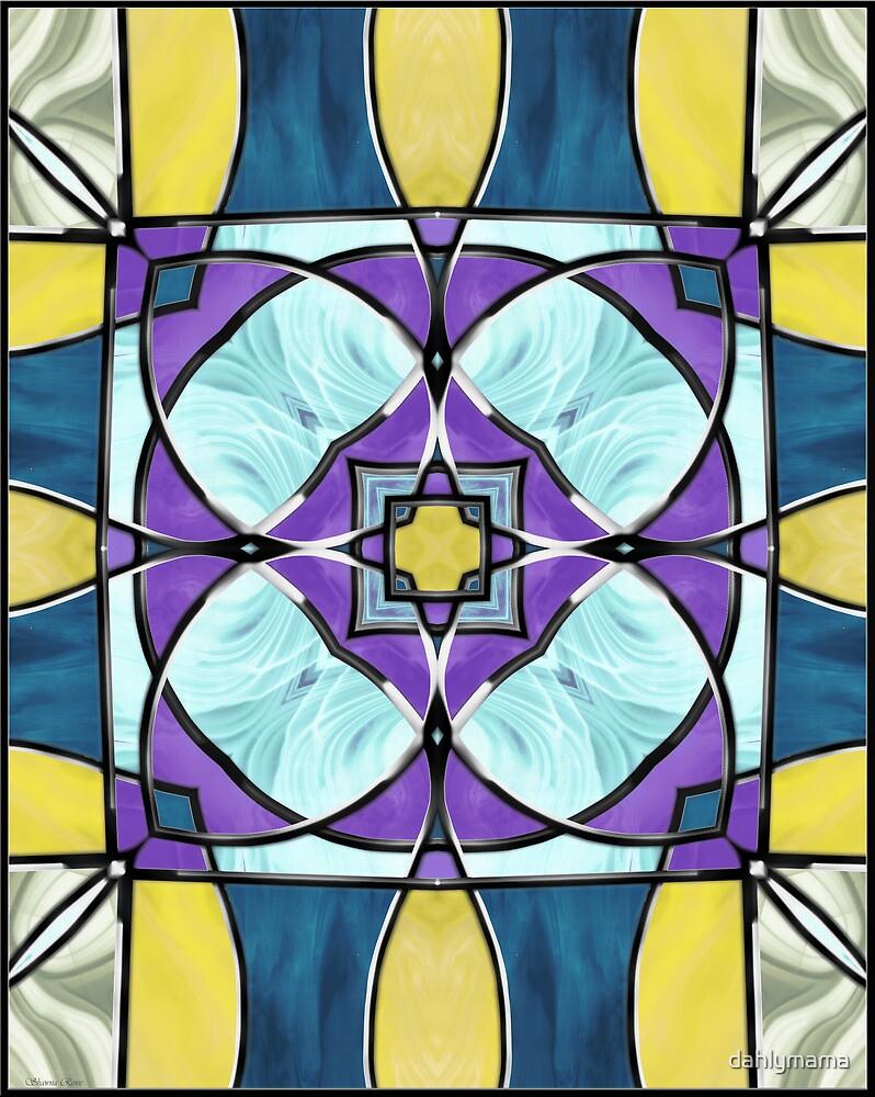 Stained Glass Window 7 by Shawna Rowe