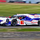 Toyota Racing No 7 by Willie Jackson
