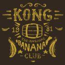 Kong Banana Club by Azafran