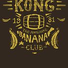 Kong Banana Club by Azafran