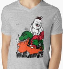 Sit Down and Shut Up Artwork in Color (textless) Men's V-Neck T-Shirt