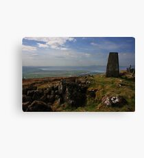 On Binevenagh's Summit Canvas Print