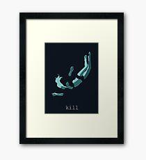 iamamiwhoami; kill Framed Print