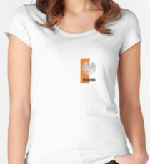 Shield Lanyard Women's Fitted Scoop T-Shirt
