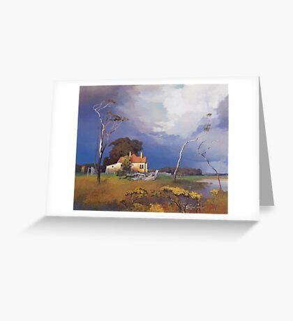 Ash Island Greeting Card