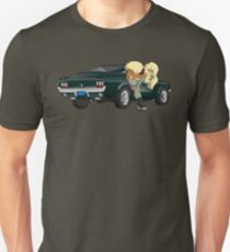 Puppies and a Bullet Unisex T-Shirt
