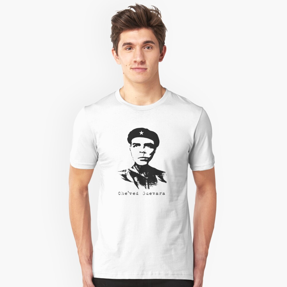 Che'ved Guevara is Shaved Unisex T-Shirt Front