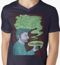 Columbo's Cigar Men's V-Neck T-Shirt