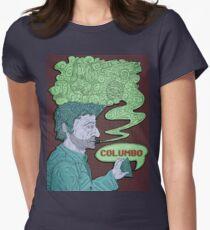 Columbo's Cigar Women's Fitted T-Shirt